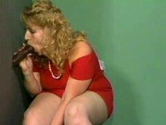 Exótica madura Señora Gorda saltando y gimiendo. Sucia rubia BBW follar en la habitación de los niños