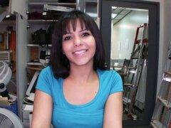 Latina folla en casting
