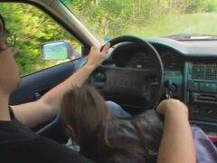 18yo adolescente rusa follada en el coche