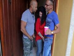 Big Booty BBW MILF obtiene a DP'ed por Shane Diesel y Ramon XXX