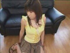 Linda asiática mamada Amateur y corrida. Corrida y mamada Amateur asiática lindo