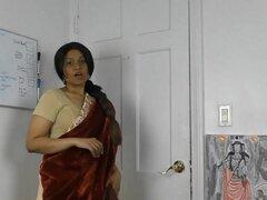 HornySouth hermana indio en el rol del derecho en Tamil con subs