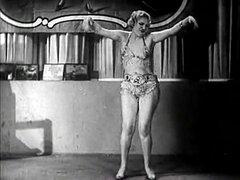 Fátima se atormenta con su danza de amor (Vintage de la década de 1940)