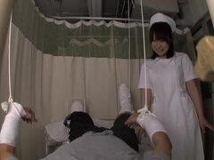 Vagina mojada de Tao penetrado por mi verga en la película de Asia spy cam, enfermeras japonesas son calientes todo el tiempo y son muy felices cuando un paciente les pide cuidar de su barra. En esta película de spy cam fuck escenas Tao cabalga con lujuri
