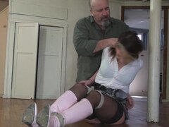 atadas con botas rosa