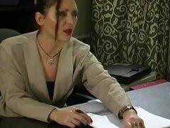 Película de KissMatures: A Esther y Emmie, es tarde en la noche en el despacho y Esther y Emmie va a entrar en algunos caliente sexo lésbico que se va a ir a tiempo extra y luego algunos. Estas dos lesbianas putos desagradables no tenían ninguna opción pe