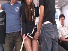 Puta japonesa exótica Mimura China en JAV cachondas sin censura clip de tríos,
