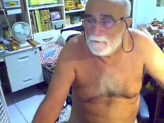 abuelo cum en webcam