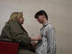 Sc.1 ruso BBW señora jefe enmascarado