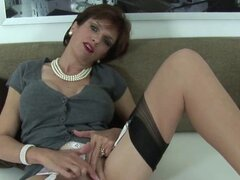 Unfaithful uk mature lady sonia exposes her massive bal. Big titted bisexual slutwife lady sonia strokes her huge boobs and finger fucks tight twat in underwear
