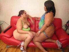 Gordas lesbianas negras