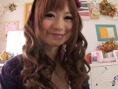 Increíble japonesa puta Shizuka Hasegawa en estilo perrito exótico, clip de digitación JAV