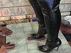 TCC con botas