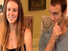 Amanda sexy y cachonda bf participan en el reality show de intercambio de parejas
