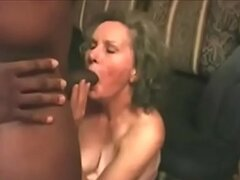 Abuela Anal Interracial