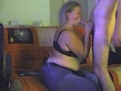 Mi esposa BBW chupa mi dick seco, caliente video porno casero de mi gordita esposa rubia darme una de sus mamadas increíbles, su boca hambrienta que me dispara una carga por su garganta en cuestión de segundos